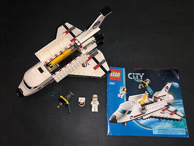 LEGO #3367 CITY Space Shuttle 100% COMPLETE With Manual Built!