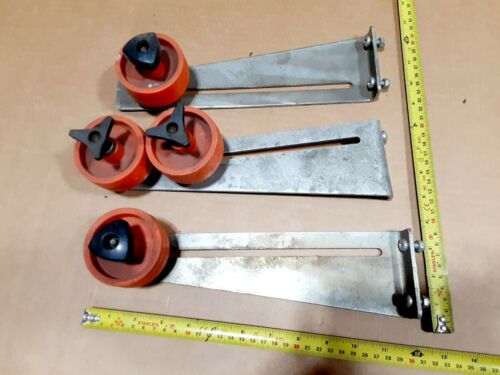 SOCO System Case Carton Sealer Tape dispenser GUIDE ROLLERS Denmark 70/30 0 10
