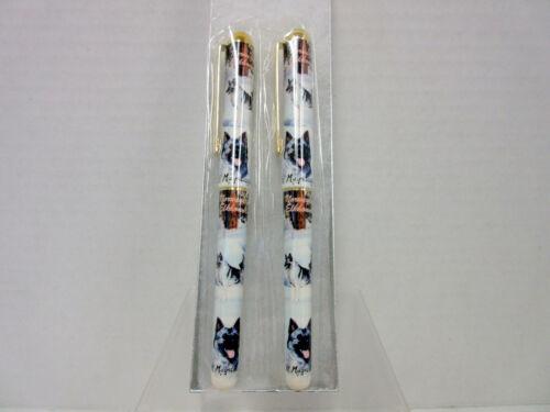 Norwegian Elkhound Dog Roller Ball Pen Set - 2 Pens In Gift Box Ruth Maystead