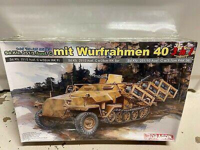Dragon 1/35 Model Kit Sd.Kfz. 251/2 Ausf.C mit Wurfrahmen 40 6284 SEALED