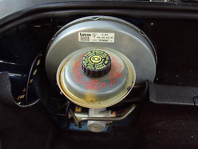 Porsche Boxster 986 2.7 Brake Master Cylinder and Servo 996.355.025.05 Y478RTR