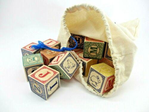 Uncle Goose Alphabet Blocks Real Wooden Blocks