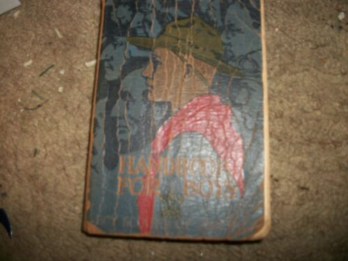 VINTAGE 1930 ISSUE HANDBOOK  FOR BOYS   BOY SCOUTS OF AMERICA  SOFTCOVER