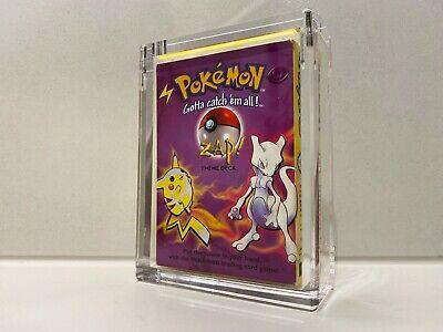 60-Card ZAP! Pokemon Theme Deck WoTC Base Set in Great Condition