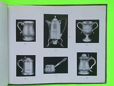 Catalog Antique English Sterling Silver Sheffield Plate Glass Decanters Burfitt