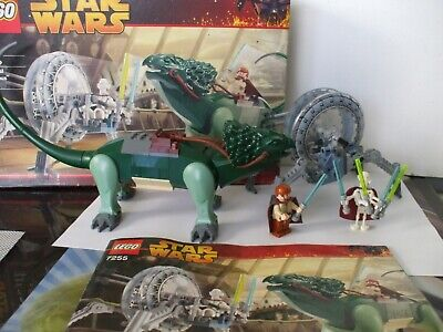 LEGO STAR WARS 7255 GENERAL GRIEVOUS CHASE COMPLETE SET BOXED EXC CON
