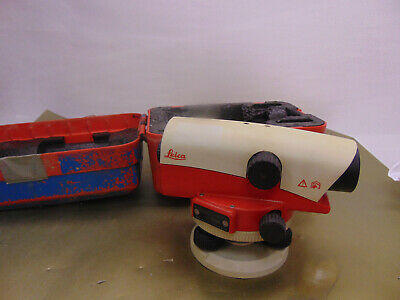 Leica Na724 Automatic 24x Automatic Optical Level With Case - Free Shipping 3