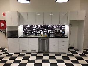 Kitchen cabinets and stone bench top Sinagra Wanneroo Area Preview