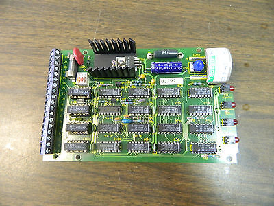Hurco / Renishaw PC Board, M/2033/0991/03, KCC9316, Off BMC-20, Used, Warranty