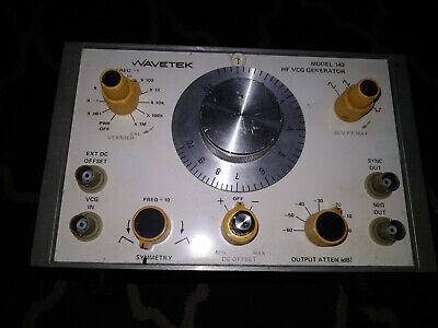 Wavetek Model 142 Hf Vcg Frequency Generator Asis