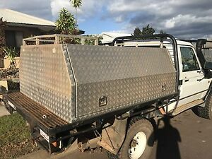 Alloy canopy/toolbox Yarrawonga Palmerston Area Preview