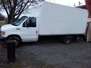 1994 E350 Cube Van very low km diesel!
