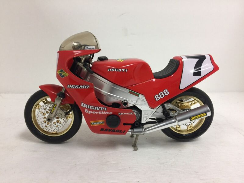 Rare 1/10 Scale Guiloy Ducati 888 Diecast Made in Spain