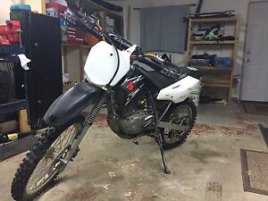 Suzuki Drz 125L dirt bike