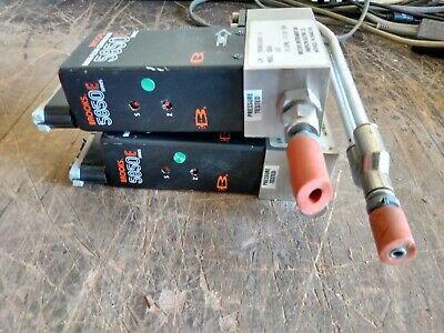 2 Broks 5850e Mass Flow Controller