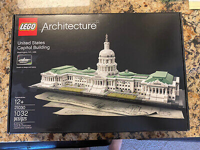 Brand New (in box) Lego Architecture #21030 US Capitol Building - Lego Retired!