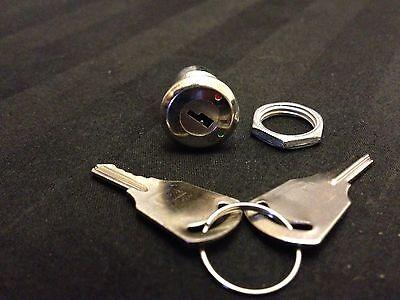 1x 1pcs All Metal Key Switch Off On Lock Toggle Lock Security Electronic B10