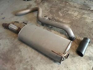 "F150 ecoboost exhaust system/4"" MBRP tip/flowmaster"