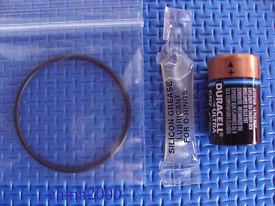 DUAL GP battery /& O-ring Kit Oceanic Veo 1,Veo 2,Veo 3 /& VT Pro grease