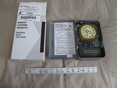 1 New Intermatic T1905e Mechanical Timer 480 Volt Spdt
