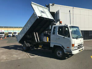 Mitsubishi Fighter 1024 FUSO FIGHTER 1024 Tipper Milperra Bankstown Area Preview