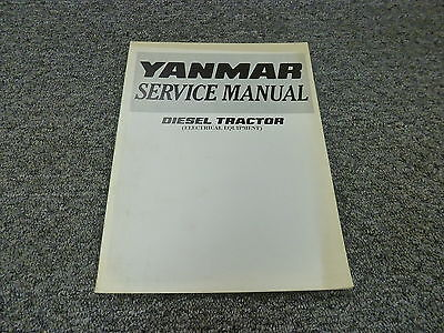 Yanmar Diesel Tractor | Owner's Guide to Business and Industrial