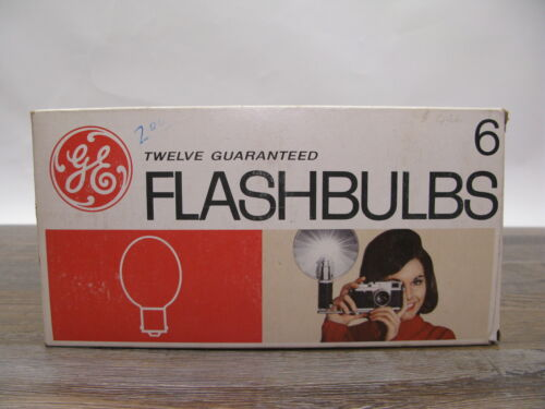 GE No. 6 Flash Bulbs Clear - 12 Pack Box