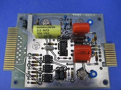 Thermco 01-262-135 -1 Pcb Assembly Firing Card Used