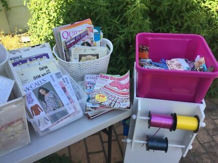 Craft garage sale on now Saturday/Sunday only cleaning stock