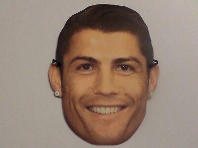 Maske aus Pappe - Cristiano Ronaldo - CR7 - WM 2018