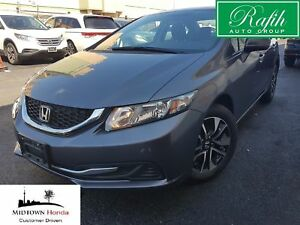 2015 Honda Civic EX-Perfectly reconditioned-One owner