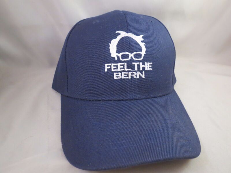 EMBROIDERED BERNIE SANDERS FOR PRESIDENT FEEL THE BERN BASEBALL TRUCKER HAT 2016