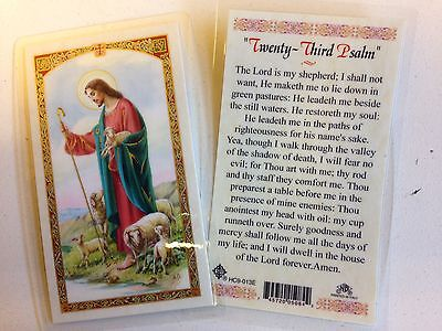 Holy Prayer Cards For The 23Rd Psalm In English Set Of 2