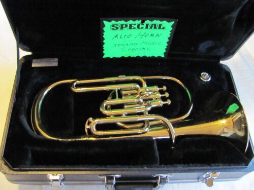 Alto horn, altonium, Jenkins Music Co., Kansas City.
