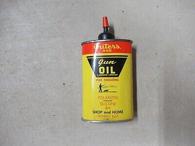 Vintage Outers 445 Gun Oil Metal Can Handy Oiler 3 Fl. Oz.