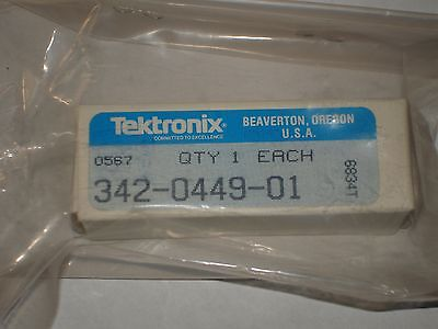 Tektronix Ceramic Insulator Used With Tm5006 And Others 342-0449-01 New