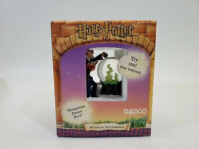 LM VINTAGE Enesco Harry Potter Hungarian Dance No 5 Musical Waterfall Snowglobe
