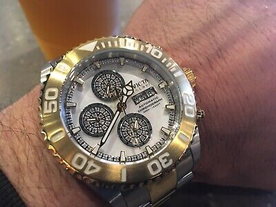INVICTA #23286 DIAMOND .82 CT. PRO DIVER SWISS AUTOMATIC 7750 VALJOUX LE 125