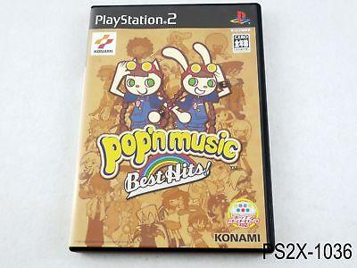 Pop'n Music Best Hits Playstation 2 Japanese Import Japan JP PS2 US Seller