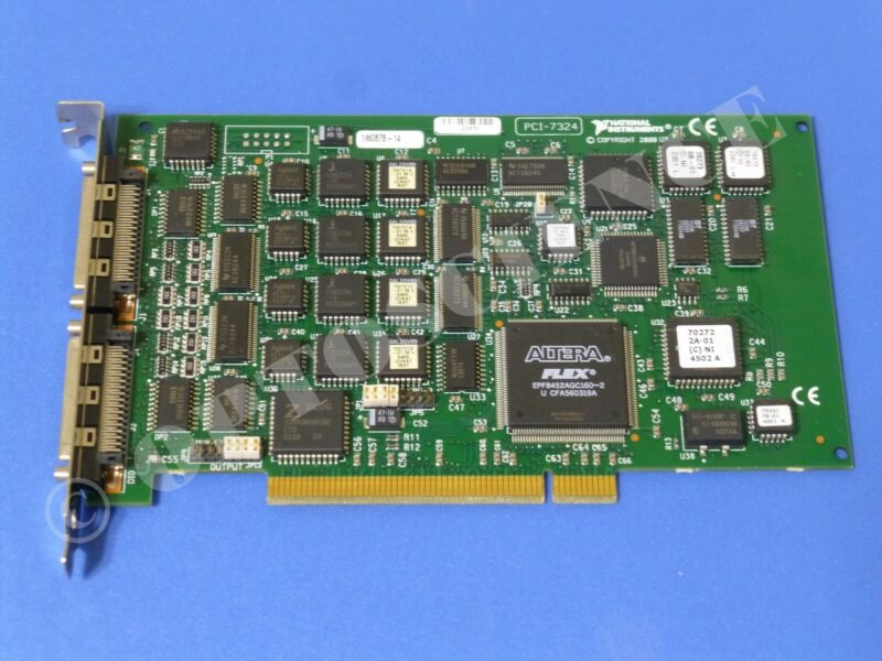 National Instruments PCI-7324 Motion Controller Card, 4-Axis, Stepper Motor