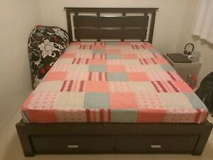Double bed and mattress-pick up only