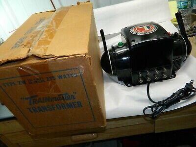 Lionel Original Vintage ZW 275 Watt Transformer Completely Serviced