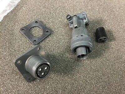 Harwin 3-pin M90-3106f10sl-3p M90-3102r10sl-3s Mil Spec Connector