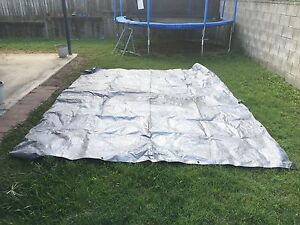 Large silver Tarp Carina Brisbane South East Preview