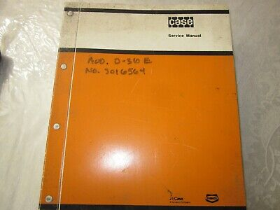 Case 310g 350 Crawler Dozer Original Service Manual