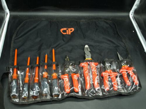 Certified Insulated Products (CIP) PRO Electrician Tool Set 9-Piece 1000V (R5)