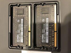 2x 4GB PC3L DDR3L RAM