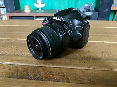 Nikon D3200 24.2MP DSLR Camera AF-S DX 18-55mm Lens Very Low shutter count: 2171