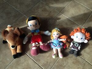Disney stuffies from the Disney store