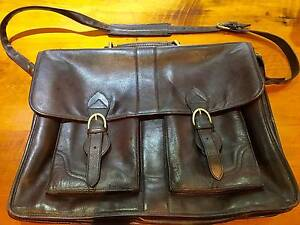 'HIDESIGN' LEATHER MESSENGER LAPTOP BAG, SATCHEL, BRIEFCASE Wilberforce Hawkesbury Area Preview